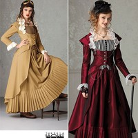 Sexy Steampunk Fashion Misses' Victorian Era by MissBettysAttic