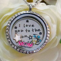 Mother's Lunar Love Locket  - Includes locket, charms, and FREE chain