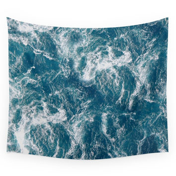 Society6 Sea Water Wall Tapestry