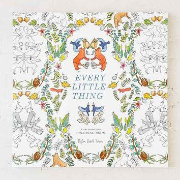 Every Little Thing: A Flat Vernacular Coloring Book By Payton Cosell Turner