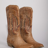 poncho boot - natural