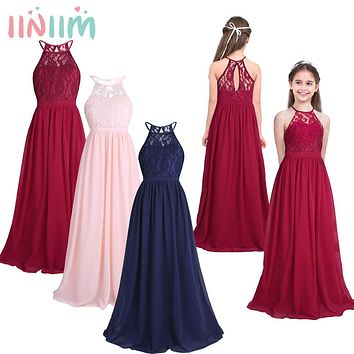 Children's Clothes Vestidos Birthday Party Princess Summer Kids Girls Clothing Wedding Dresses Ball Tutu Prom Dress Teen Costume