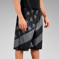 Tactical USA Flag Shorts