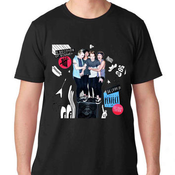 The best Seller 5 Seconds of Summer   #RosTheRos TShirt Mens and T Shirt Girls edition