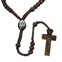 FREE Our Lady of Grace Cord Rosary