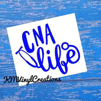 CNA Life Decal | CNA Life | Stethoscope Decal | cna Decal | Nurse | Nurse Decal | Nursing | Cup Decal | Scrub Life Decal | Iphone Decal
