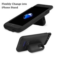 DCCK3SY iPhone 7 plus/6 Plus Battery Charger Case, 4200Mah Portable Cover Charger?