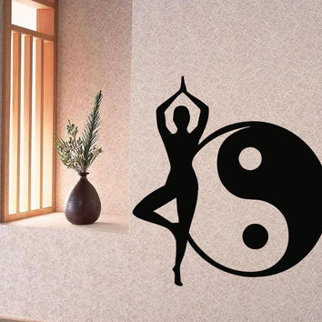Best yoga poses products on wanelo for Meuble mural yin yang