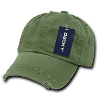 Olive Green Polo Style Adjustable Unstructured Low-profile Baseball Cap Caps Hat Hats