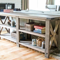 Timber & Plank Custom Console Table