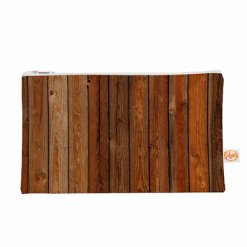 "Susan Sanders ""Rustic Wood Wall"" Nature Brown Everything Bag"
