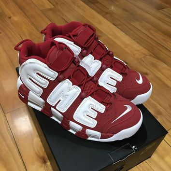 PEAPCG8 Air More Uptempo Supreme 'Suptempo' Red 902290-600