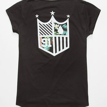Volcom Future Athletics Womens Tee Black  In Sizes