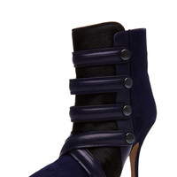 Isabel Marant | Tacy Pony Booties in Midnight www.FORWARDbyelysewalker.com