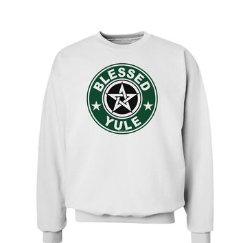 Blessed Yule Emblem Sweatshirt by