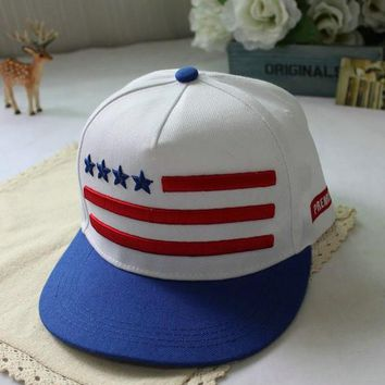GODKNOWS American Flag Embroidered Hats