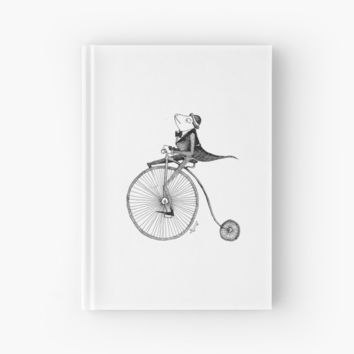 'A Froggy Gentleman' Hardcover Journal by Speardog