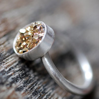 Lil Gold Rush Ring by dollybirddesign on Etsy
