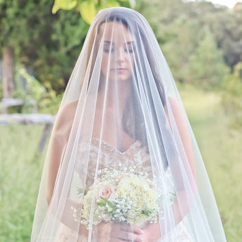 Soft Drop Wedding Veil
