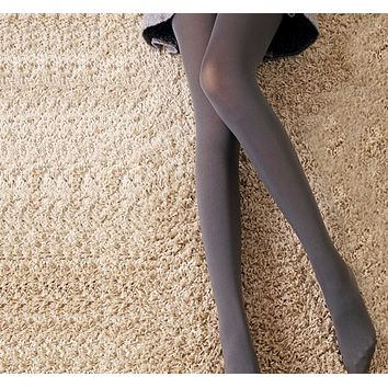 Sexy Warm Winter Stockings No Wire Pantyhose Black Grey Female Thickening Stockings/Tights