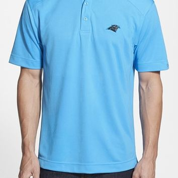 Men's Cutter & Buck 'Carolina Panthers - Genre' DryTec Moisture Wicking Polo,