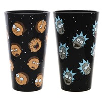 Rick and Morty Exclusive Pint Glass Set - Rick and Morty Heads
