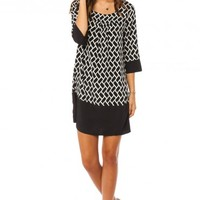 SARAH JANE SHIFT DRESS