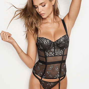 Shine Lace Corset - Very Sexy - Victoria's Secret