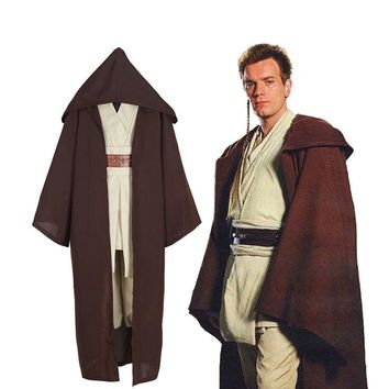 Star Wars Jedi Knight anime cosplay costume Star Wars cos apparel foreign trade explosion animation clothing
