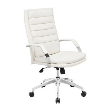 ZUO Modern Director Comfort 205327 Office Chair White