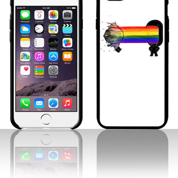 Puke a rainbow 5 5s 6 6plus phone cases