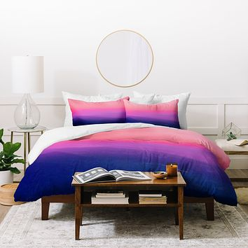 Aimee St Hill Como Sunset Duvet Cover