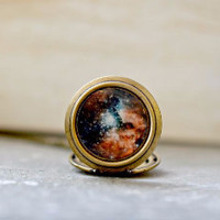 Galaxy Locket Necklace