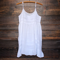ethereal bohemian white flowy mini dress