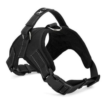 MDIGYN5 Large Dog Harness Padded Chest Strap Heavy Duty with Handle Comfortable for Labrador Golden Retriever Samoyed Husky Dogs-L