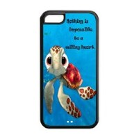 Finding Nemo Disney Hard Back Cover Skin Case for Iphone 5-i5fn1009