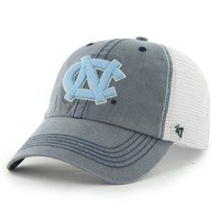 '47 Brand North Carolina Tar Heels (UNC) Caprock Canyon Flex Hat - Navy Blue/White