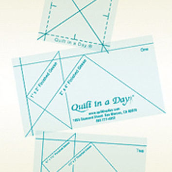 Quilting Ruler, Mini Geese Ruler Set, Quilt in a Day