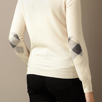 Cashmere Needlepunch Sweater