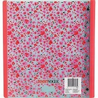 1 Staples® Teen Vogue Better® Binder with D-Rings, Assorted Patterns