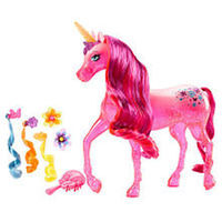 Barbie and The Secret Door Pink Unicorn Doll