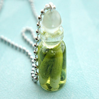 Pickles in a Jar Necklace