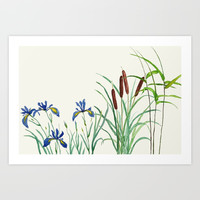 garden arts Art Print by Color and Color