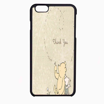 classic winnie the pooh and piglet FOR IPHONE 6 CASE NEWEST **