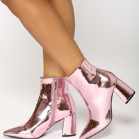 Olympic Bootie - Pink