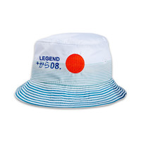 Rising Sun Bucket in White – Pink+Dolphin