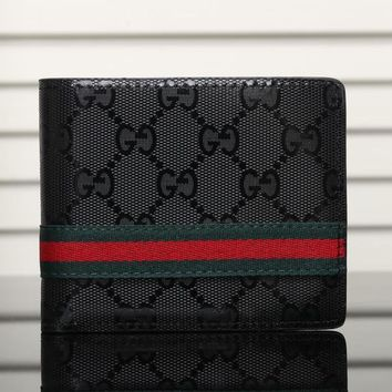 Gucci Man Leather Purse Wallet5