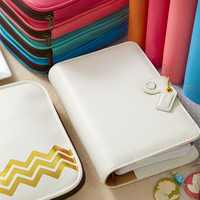 Personal Planner BINDERS ONLY : White - Personal Planners & Folios - What's New! (Wholesale Only)
