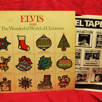 Amazing ELVIS sings The Wonderful World of Christmas - RCA # LSP - 4579   Stereo Near Mint 1971