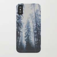 The mighty pines iPhone Case by happymelvin